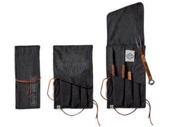 Grillwerkzeug, Set, 3-teilig, Bar & Shield, Harley-Davidson