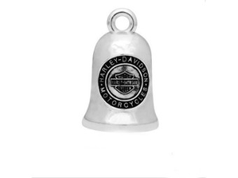 Ride Bell, Live To Ride, Harley-Davidson, Silber