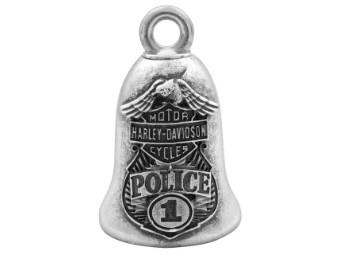 Ride Bell, Bar & Shield, Eagle Police, Harley-Davidson