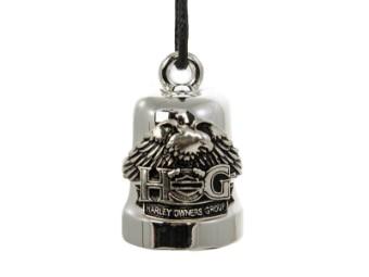 Ride Bell, H-D H.O.G., Harley-Davidson, Silber/Schwarz