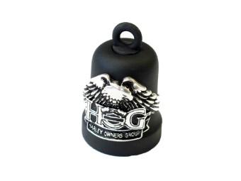 Ride Bell, H.O.G., Harley-Davidson, Schwarz