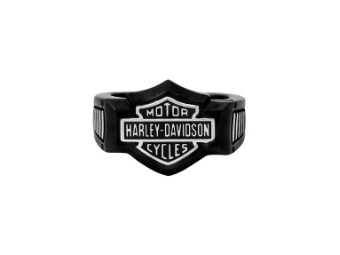 Ring, Bar & Shield, Black Edge, Harley-Davidson