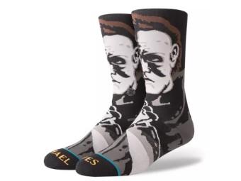 Socken, Halloween, Michael Myers, Stance, Schwarz