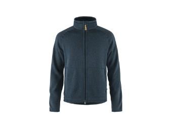 Övik Fleece Zip Sweater Men