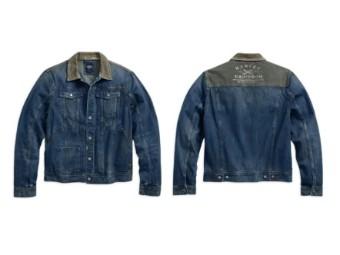 Herrenjacke Jeans/Cord