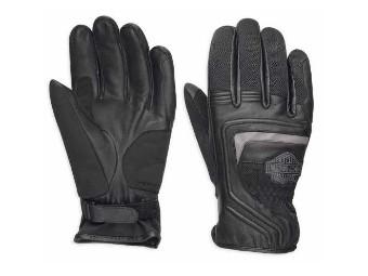 Leder & Mesh Handschuhe Bar & Shield