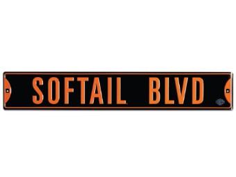 Blechschild HD® Softail Blvd