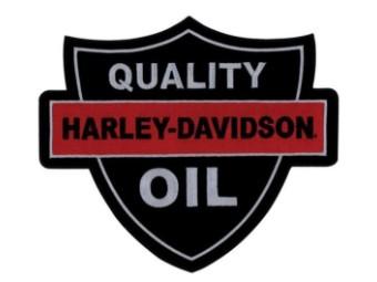 """""""Quality Oil"""" Aufnäher"""