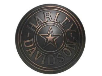 Gürtelschnalle Circle HD Star