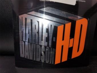 Inside/Outside H-D Box Aufkleber