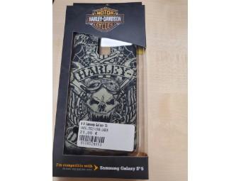 Handyhülle H-D Samsung Galaxy S5 Skull Tattoo