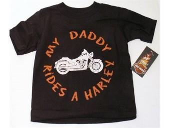 Boys Daddy Rides Shirt