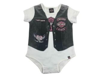 Harley-Davidson® Baby Mädchen Body