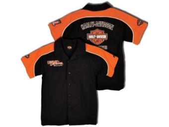 Boys-Hemd Pit Crew Shirt