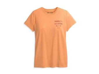 Damenshirt HD Orange