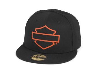 Herren Open Bar & Shield Logo 59FIFTY Cap