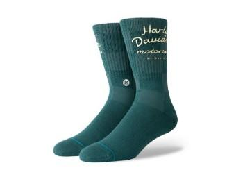 x Stance Socken Green Checker