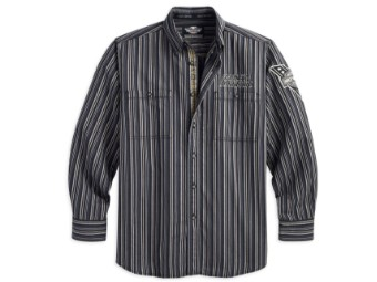 Herren Hemd Stripe