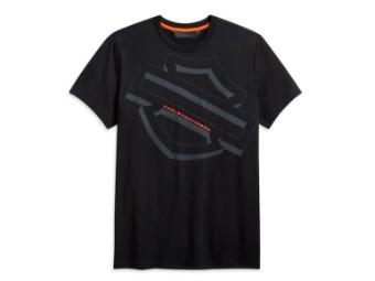 Herren Shirt Tilted Logo