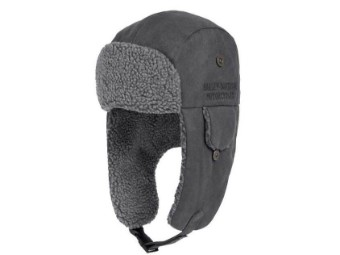 Embroidered Sueded Quilted Aviator Cap