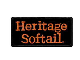 Aufnäher Embroidered Heritage Softail-Emblem