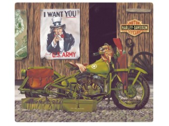 Blechschild HD® Freedom Riders