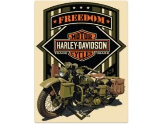 Blechschild HD ® Freedom Green