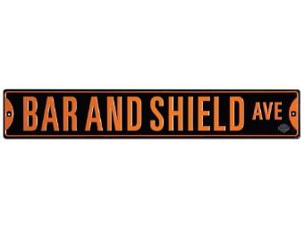 Blechschild HD® Bar & Shield Ave