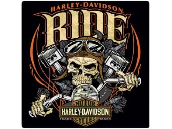 Blechschild HD® Ride Bone