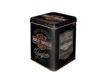 HD Genuine Logo Tea/Screw Box