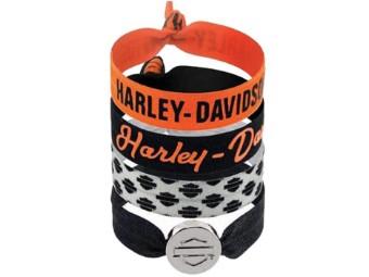 Basic Collection 4er Pack Haarbänder