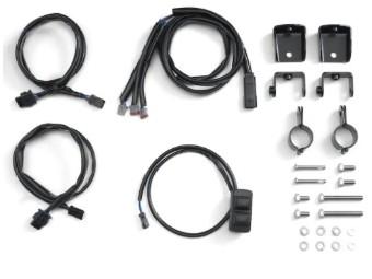 Zusatzscheinwerfer Installations-kit Touring