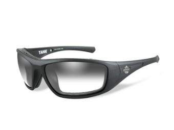Wiley X Sonnenbrille Tank LA, grau getönt / schwarz matt