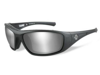 Sonnenbrille Wiley X TANK PPZ Grey Silver Flash