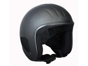Titan 2 Jet-Helm, schwarz matt