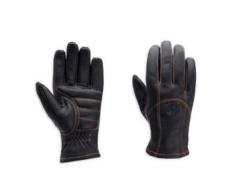 Juneau Vollfinger-Lederhandschuhe für Damen
