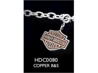 Copper B&S Charm
