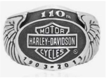 110th anniversary ring