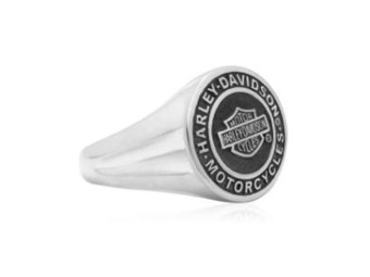 Harley Davidson Ring Coin Bar & Shield