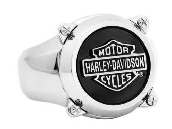 Harley-Davidson® Herren Stahlmotor Vergaser Top Cover Ring