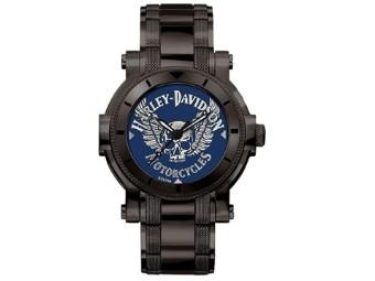 Herren-Armbanduhr Blue Medaillon