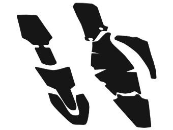 Schlammschutzaufkleber