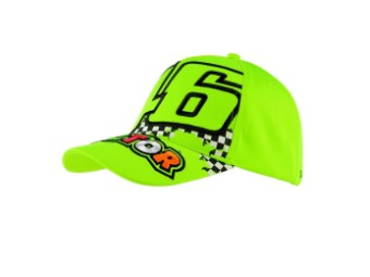 Cap VR46 The Doctor Fluo Yellow VR|46 Valentino Rossi Snapback