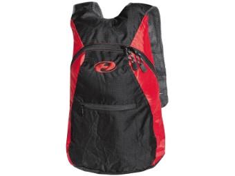 Mini Pack Rucksack Backpack schwarz rot