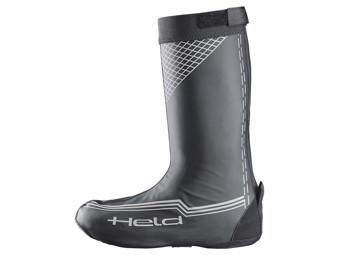 Regenstiefel Überschuhe Boot Skin Long - mit offener Laufsohle schwarz