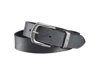 Damen Ledergürtel Gürtel schwarz 30mm