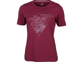 T-Shirt North Bend Vertical Tee Women dark fuchsia