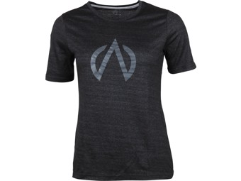 T-Shirt North Bend Exowool Tee Women black melange