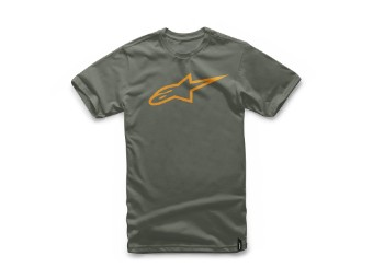 T-Shirt Alpinestars Ageless Tee military orange