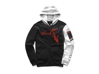 Jacke Alpinestars GP Plus Fleece schwarz/weiß/rot